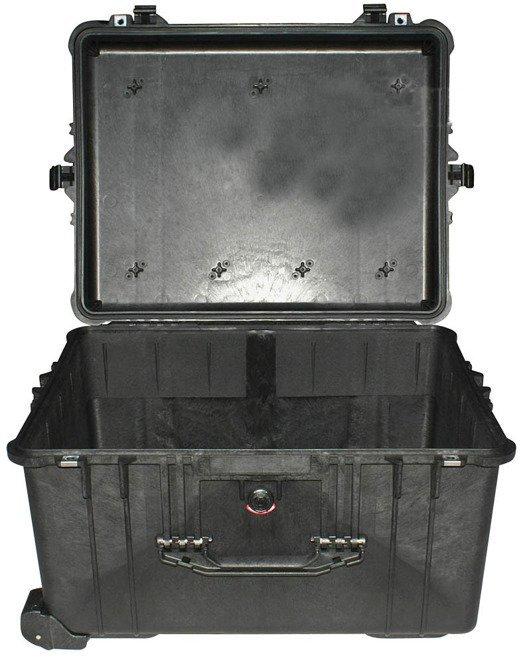 Peli 1620 bez gąbki - wodoodporna, pancerna skrzynia transportowa