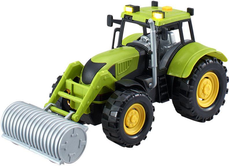 Dumel - Agro pojazdy - Traktor czerwony z akcesoriami 71001