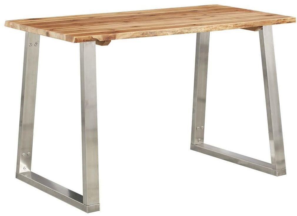 Stół industrialny jadalniany drewniany Eluwin 4X  brązowy