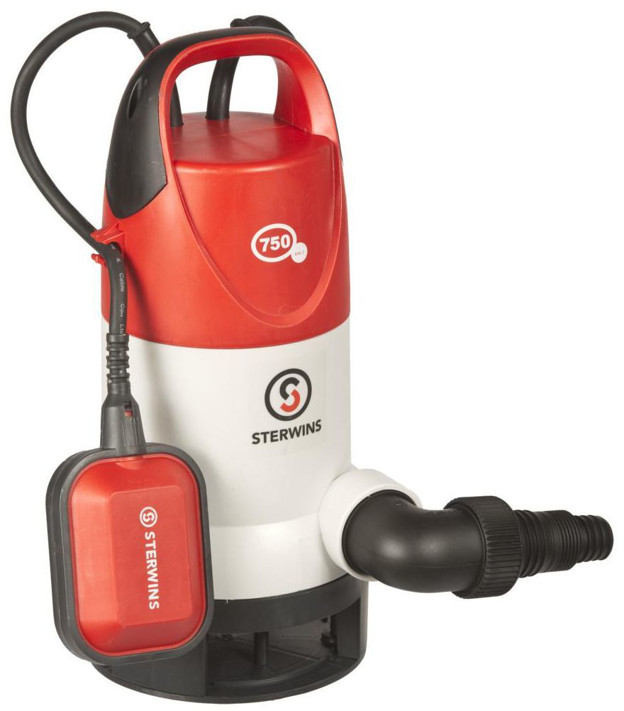 Pompa odwadniająca do wody brudnej 13500 l/h 750 W STERWINS