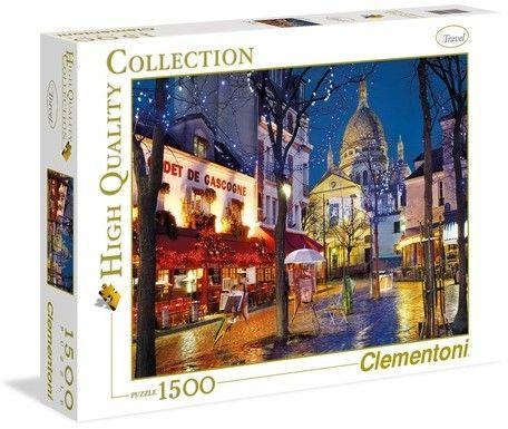 Clementoni -PUZZLE 1500EL CLM 31999 PARIS MONTMARTR PUD 53220-uniw