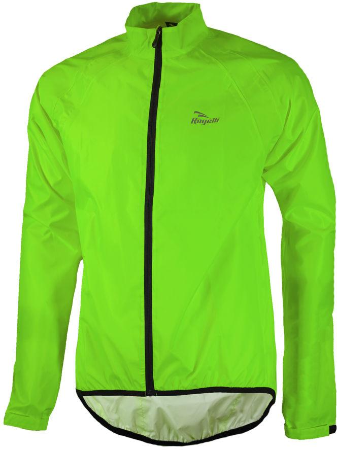 ROGELLI TELLICO kurtka rowerowa przeciwdeszczowa, fluor zielony Rozmiar: S,rogelli-tellico-green