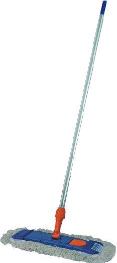 Mop kieszeniowy płaski z mikrofazy 40 cm - komplet (uchwyt,mop,kij) Mop profesjonalny