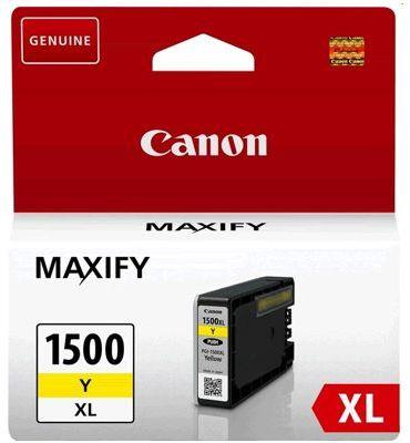 Tusz Oryginalny Canon PGI-1500 Y (9195B001) (Żółty) - DARMOWA DOSTAWA w 24h