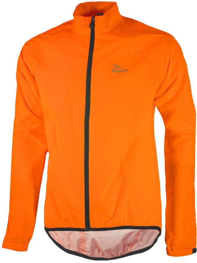 ROGELLI TELLICO kurtka rowerowa przeciwdeszczowa, fluor pomarańczowy Rozmiar: 3XL,rogelli-tellico-orange