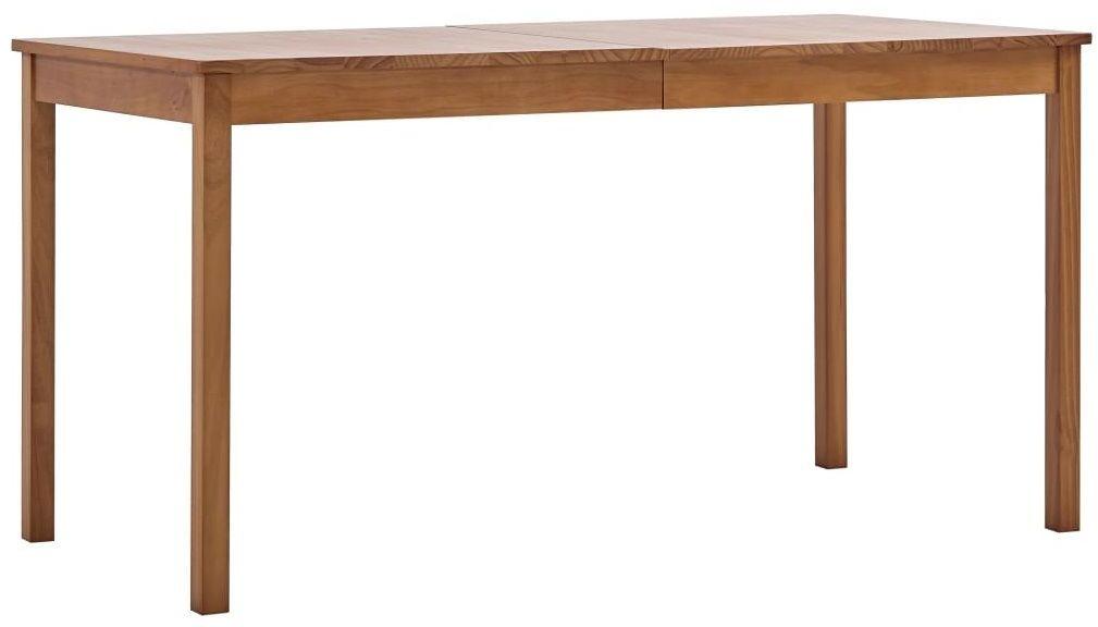 Miodowo-brązowy stół sosnowy  Elmor 2X