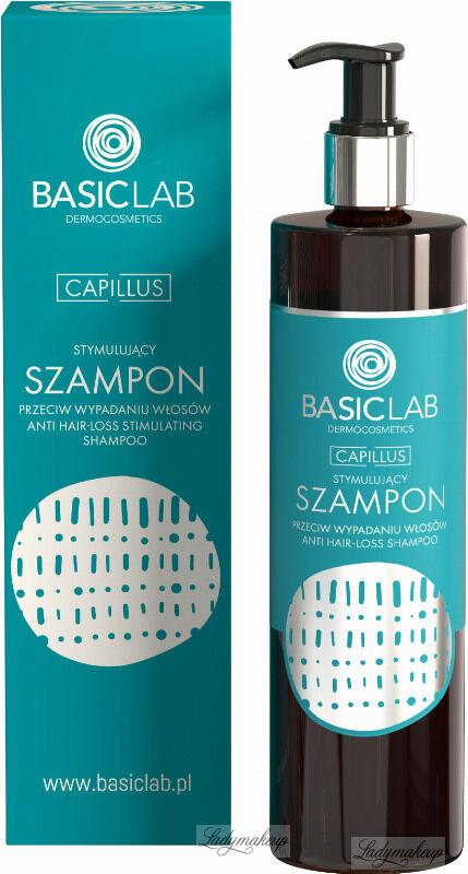 BASICLAB - CAPILLUS - Stymulujący szampon przeciw wypadaniu włosów - 300 ml