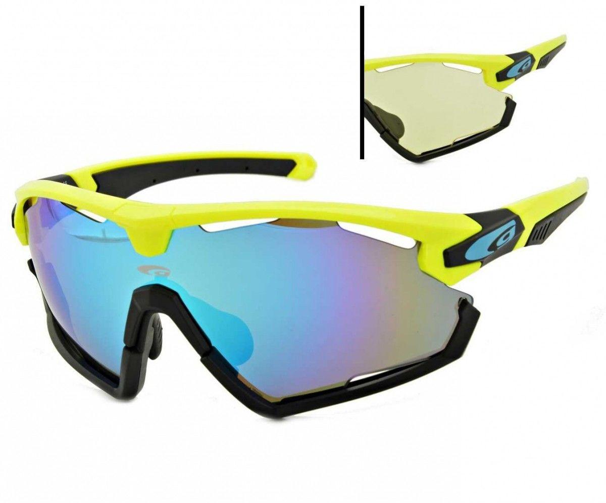 Okulary przeciwsłoneczne Goggle Viper E595-2 yellow/black