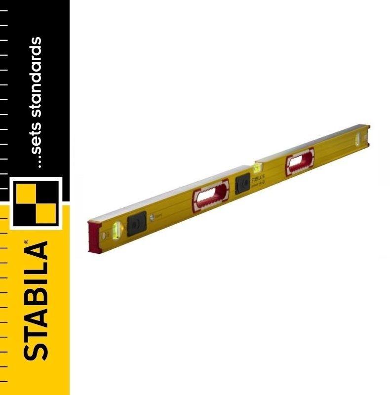 STABILA Poziomica z podświetleniem TYP 196-2 LED / 122cm