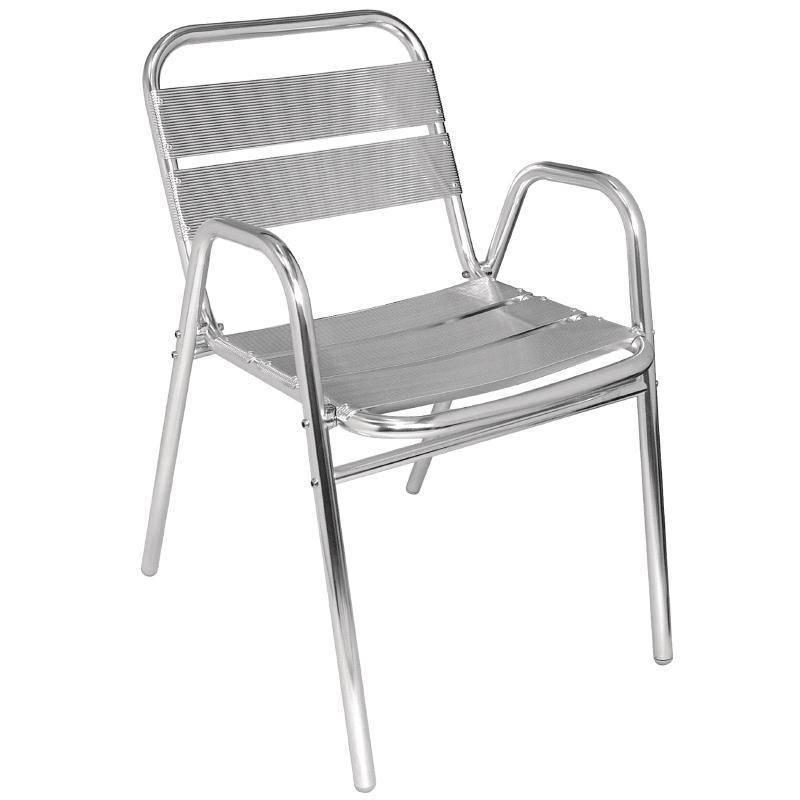 Krzesła sztaplowane 4 szt. 60x49,5x(H)78cm