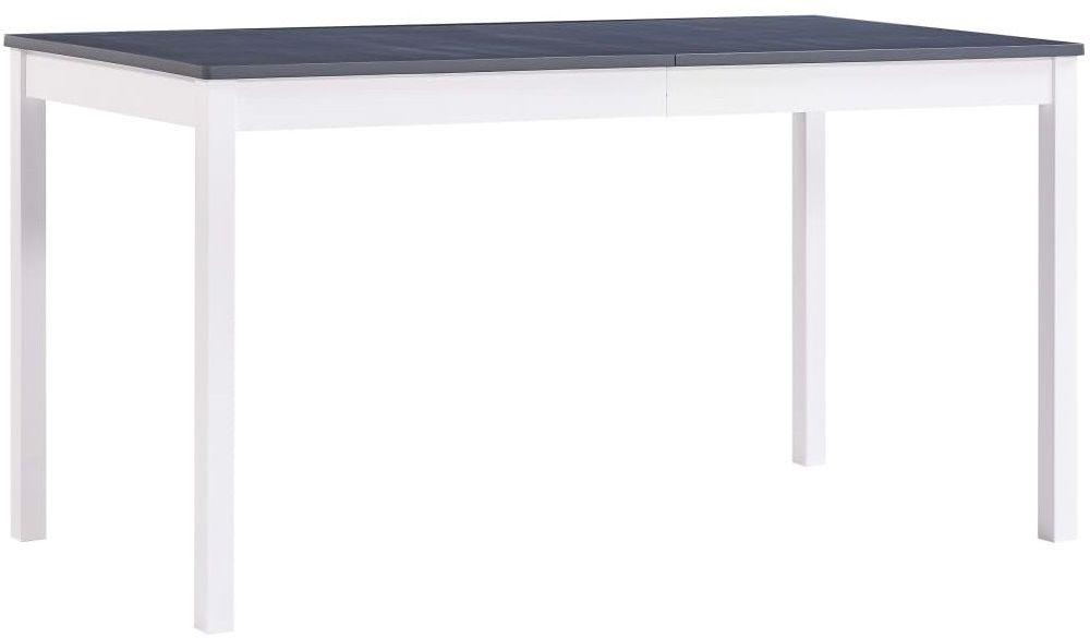 Biało-szary stół sosnowy  Elmor 2X