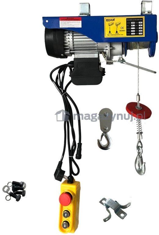 Wciągarka warsztatowa, elektryczna BSTP 150/300 obciążenie 150-300 kg (pilot przewodowy)