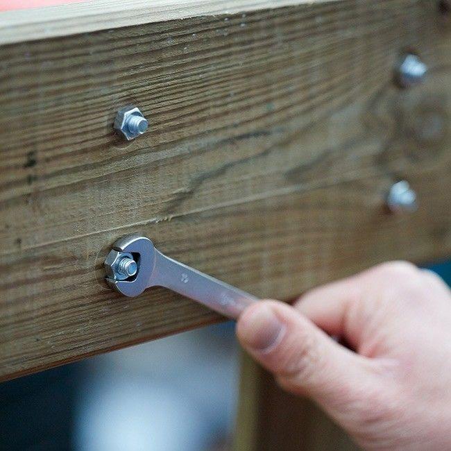 Klucz płasko-oczkowy Magnusson 10 mm