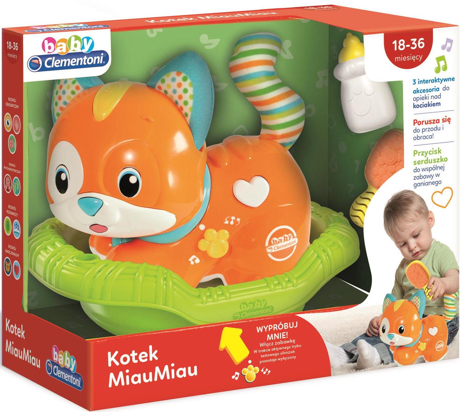 Clementoni - Interaktywny Kotek MiauMiau 50657