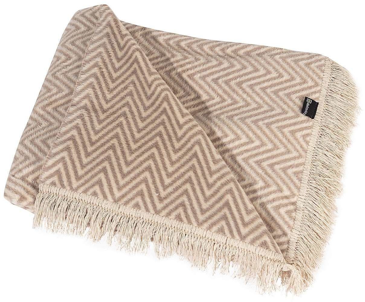 Koc Cotton Cloud 150x200cm Beige Chevron