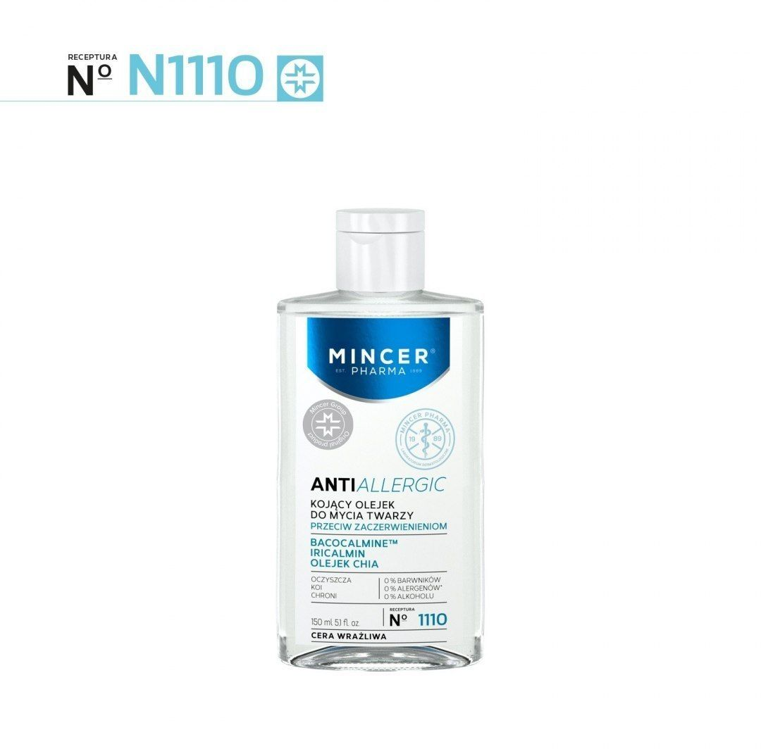 Elfa Pharm ELFA*MPH Allergic 1110 olejek do mycia twarzy 150&