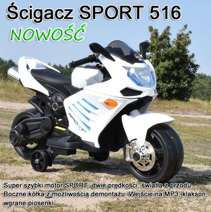 WIELKI SUPER SZYBKI MOTOR ŚCIGACZ SPORT /JT516