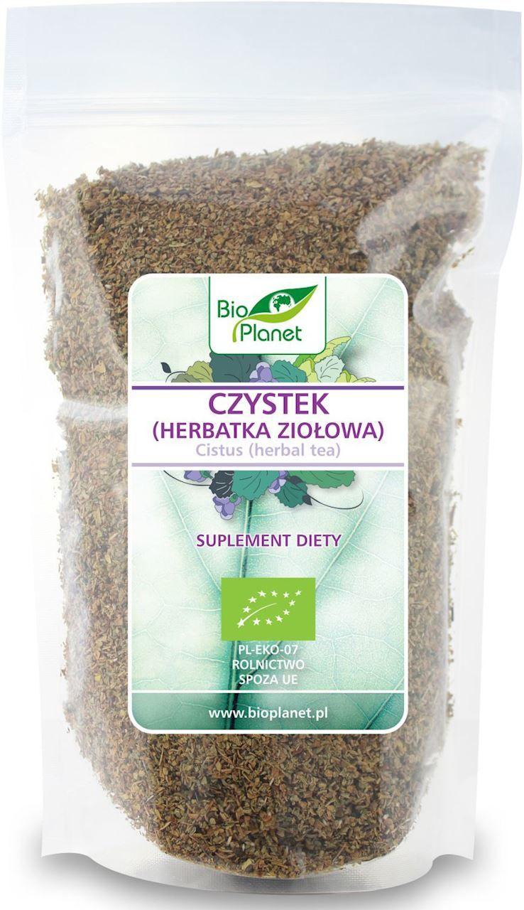 Czystek herbatka ziołowa bio 250 g - bio planet