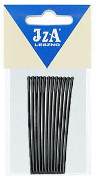 IzA 107/12 wsuwki czarne kulki 12 sztuk 70mm