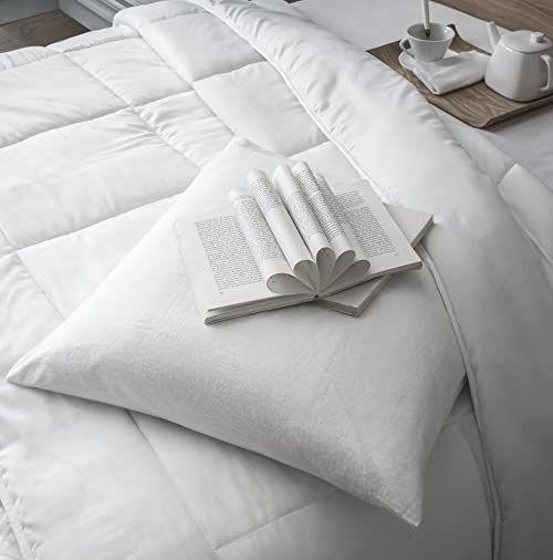 Today 285948 Today poduszka z poliestru/mikrofibry biała 60 x 60 cm
