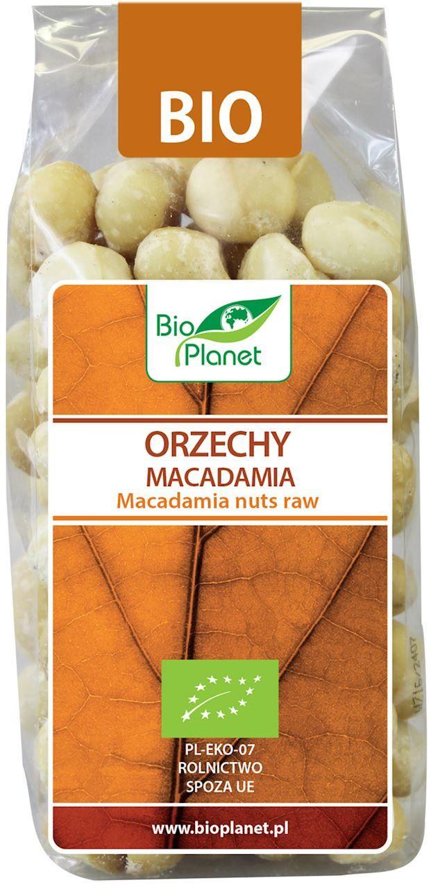Orzechy Macadamia BIO 200g - Bio Planet