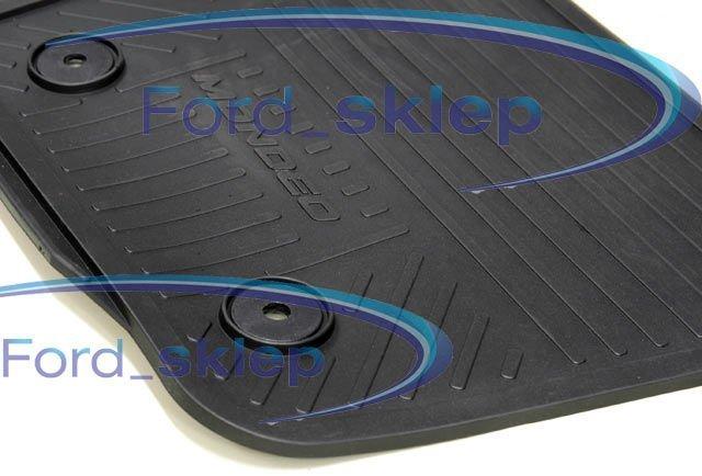 dywaniki / wykładziny podłogi gumowe Mondeo Mk5 komplet - 4 szt.