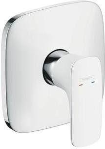 Puravida Hansgrohe bateria prysznicowa podtynkowa element zewnętrzny biały/chrom - 15665400 Darmowa dostawa