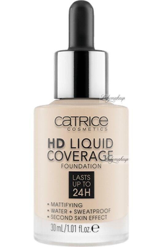 Catrice - HD LIQUID COVERAGE FOUNDATION - Podkład kryjący - 005 - IVORY BEIGE