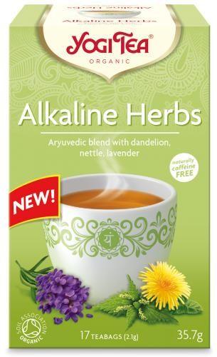 Herbatka zioła alkaliczne (mniszek, pokrzywa, lawenda) BIO (17 x 2,1 g) 35,7 g Yogi Tea