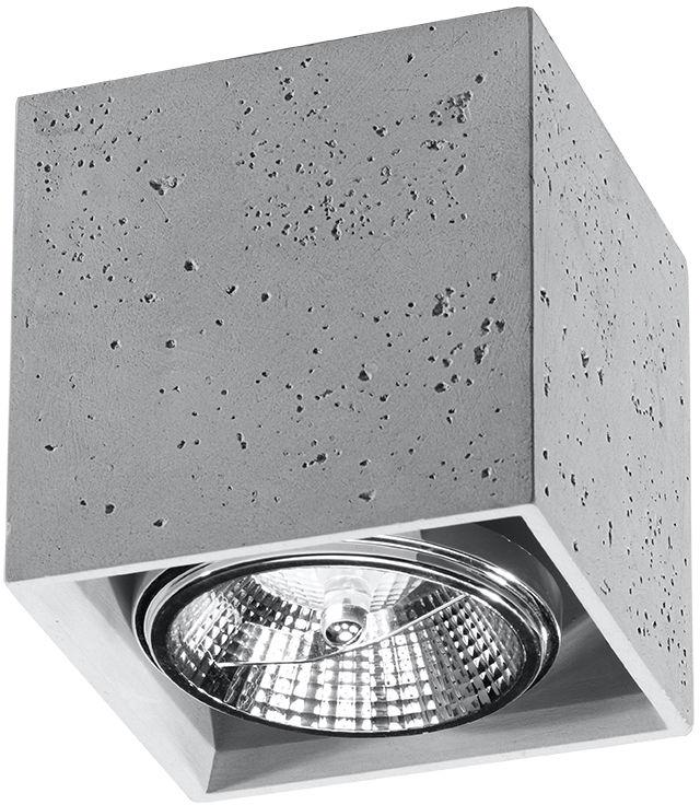 Plafon VALDE 140 beton - Sollux