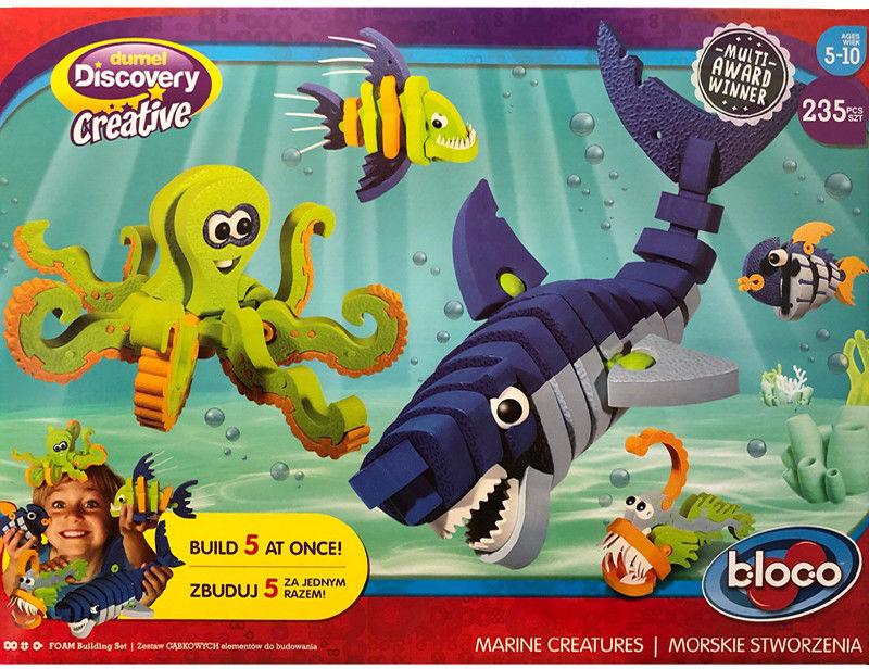 Dumel Discovery Creatives - Bloko Morskie Stworzenia 25003