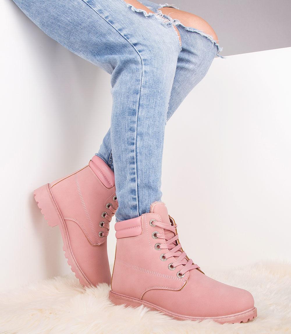Trapery damskie Bestelle WNH-1 Różowe