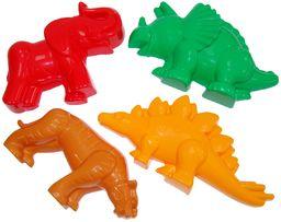 Polesie 36568 Tygrys piaskowy z mamutą nr 1 z dinozaurem zabawki nr 2 formy, wielokolorowe