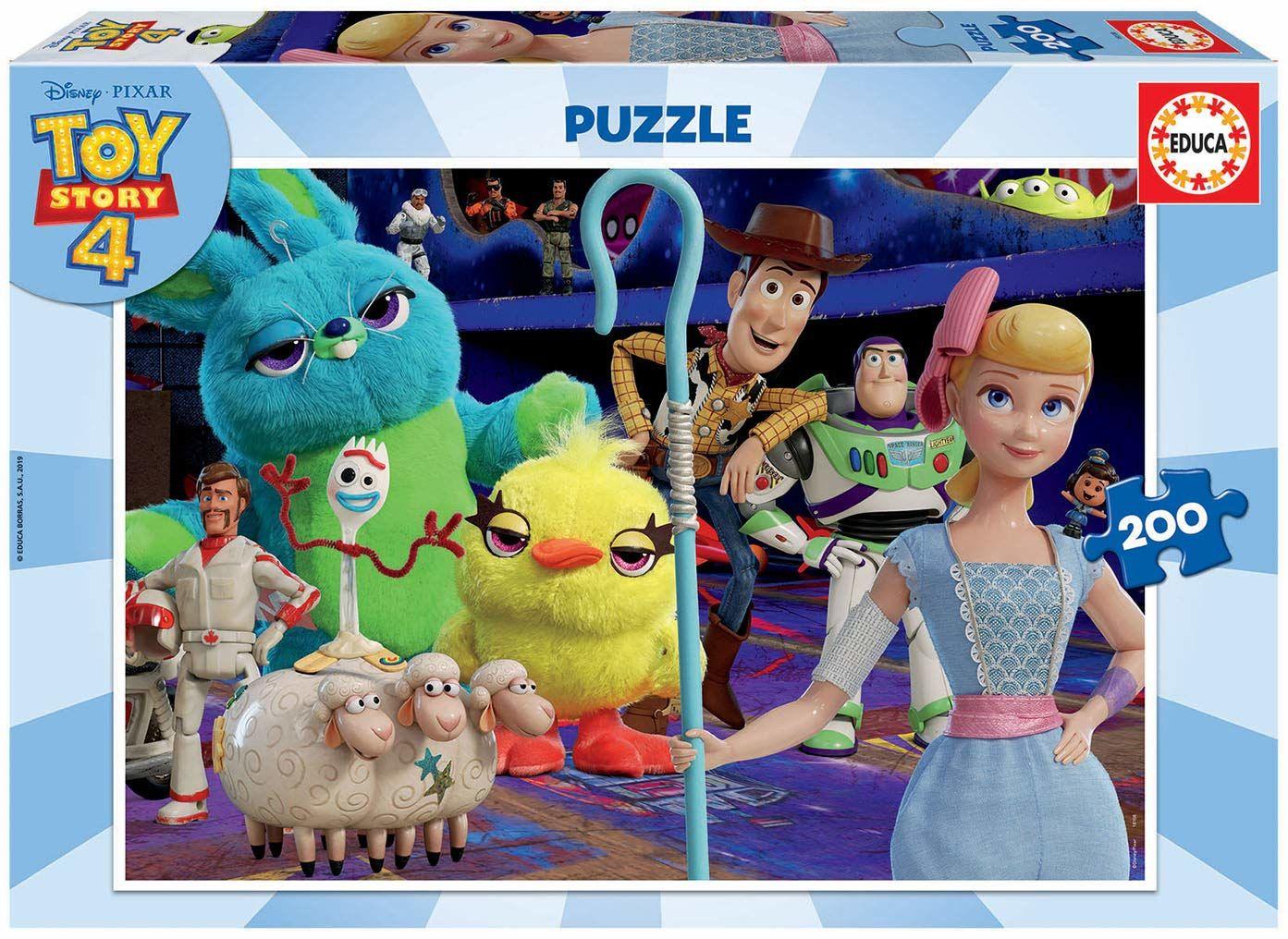 Educa Borrás 18108 Toy Story 4 puzzle, wyjątkowe