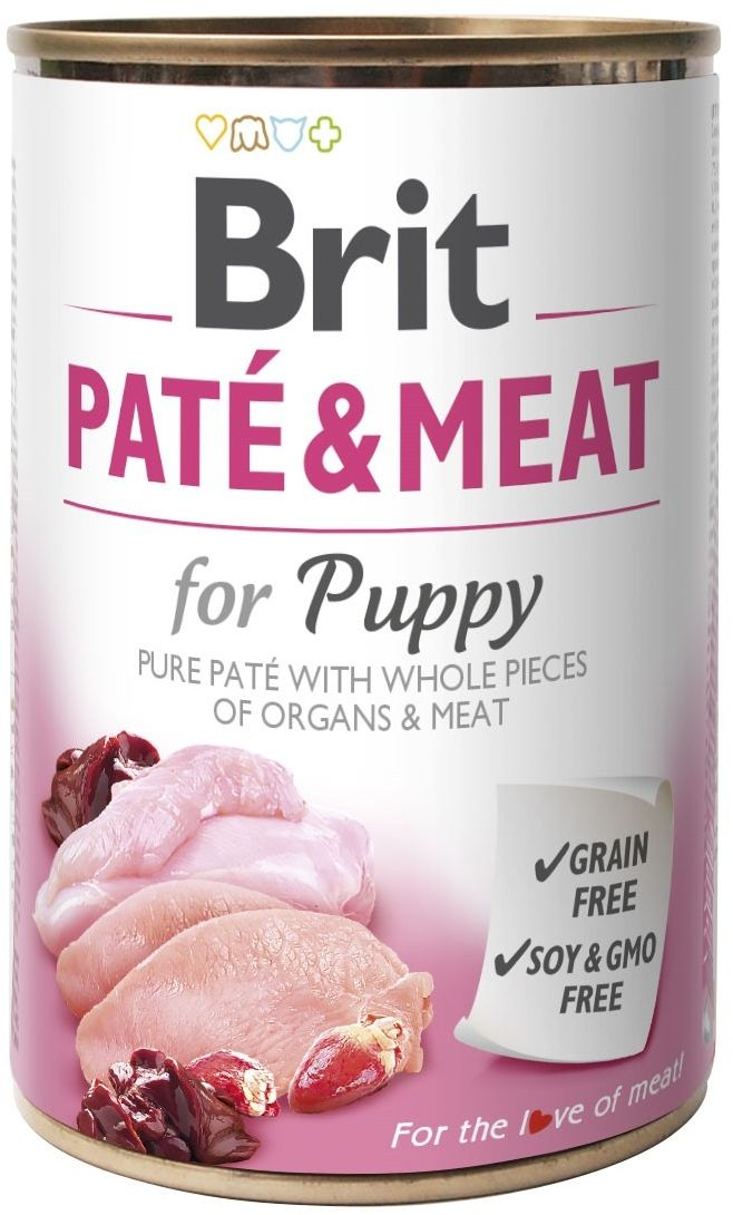 BRIT - Pate&Meat for puppy pies puszka 400g