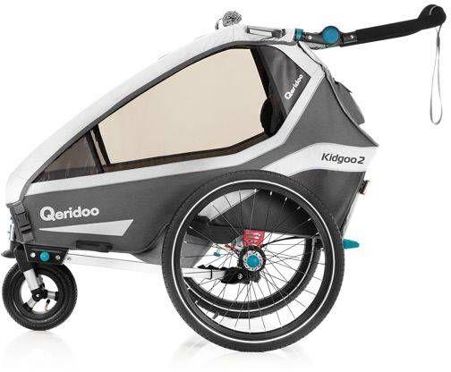 Przyczepka rowerowa z amortyzatorem QUERIDOO KIDGOO2