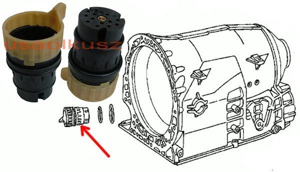 Wtyczka wiązki automatycznej skrzyni biegów NAG1 5 Speed Jeep Wrangler