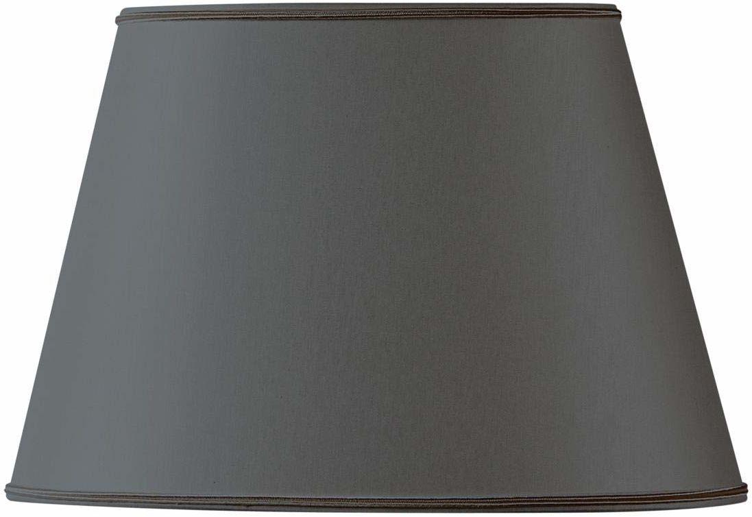 Klosz lampy owalny, Ø 40 x 27 x 25 x 18/26,5 cm, czarny