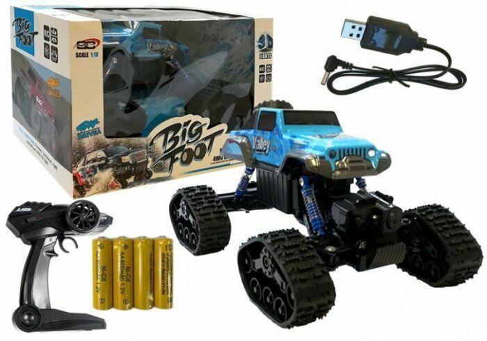 Zdalnie sterowany Monster Truck R/C Niebieski