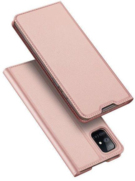 DUX DUCIS Skin Pro kabura etui pokrowiec z klapką Samsung Galaxy M51 różowy