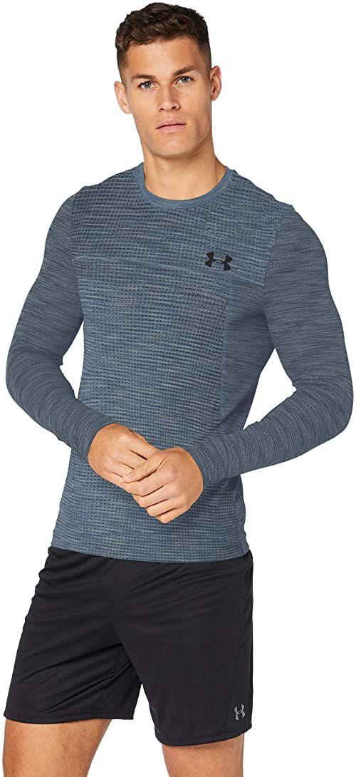 Under Armour Męska koszulka z długim rękawem Vanish bezszwowa listopad 1