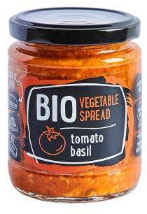Pasta warzywna pomidor-bazylia BIO 235 g Rudolfs