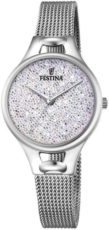 Zegarek Festina F20331-1 Mademoiselle Swarovski - CENA DO NEGOCJACJI - DOSTAWA DHL GRATIS, KUPUJ BEZ RYZYKA - 100 dni na zwrot, możliwość wygrawerowania dowolnego tekstu.