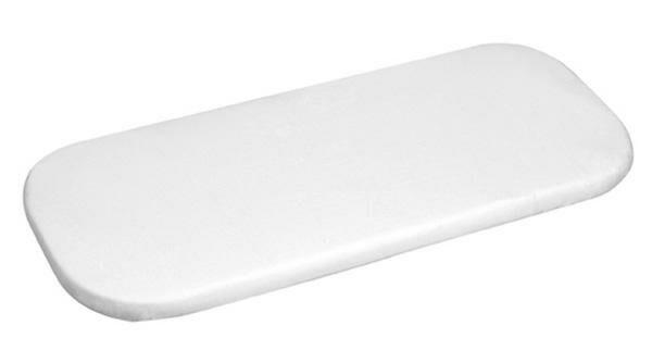 Prześcieradło jersey z gumką 40x90 białe pokrowiec na materacyk do kołyski