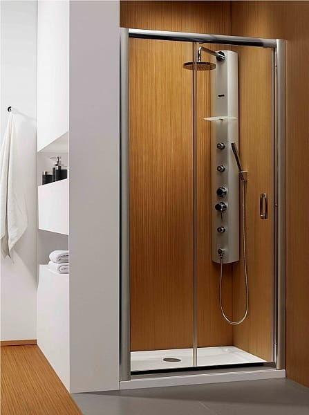 Radaway drzwi wnękowe Premium Plus DWJ 120 szkło Brązowe wys. 190 cm. 33313-01-08N