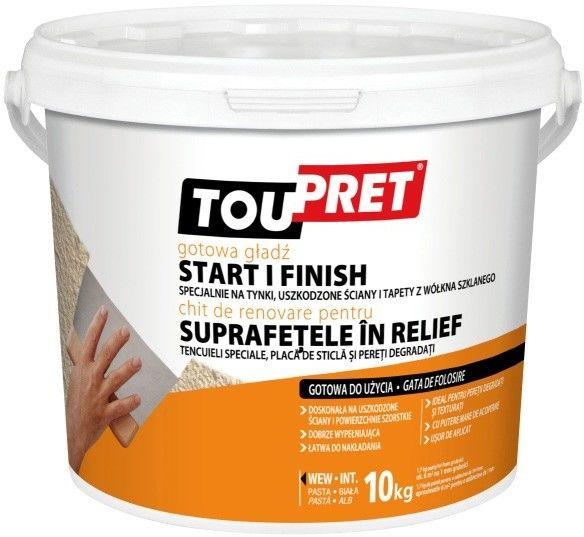 Gotowa gładź Toupret do 5 mm 10 kg