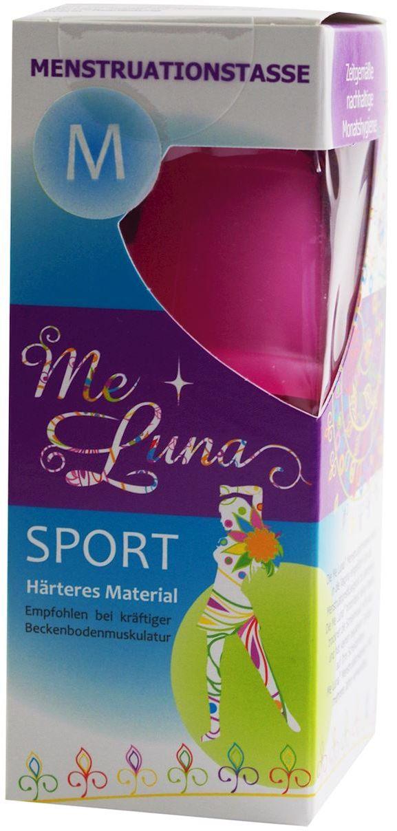 Kubeczek menstruacyjny różowy sport rozmiar m - me luna
