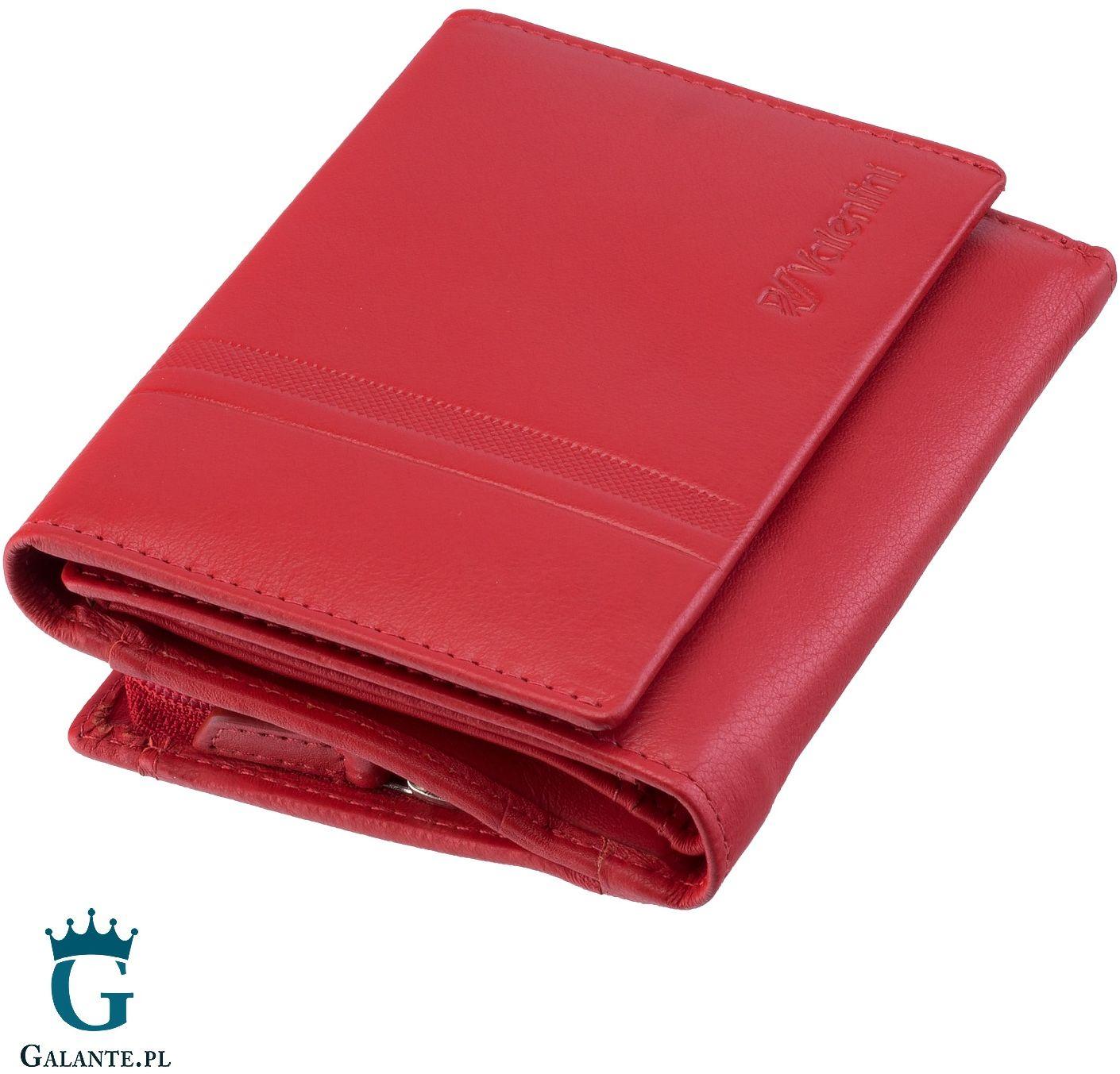 Mały portfel damski valentini 15v-263 rfid