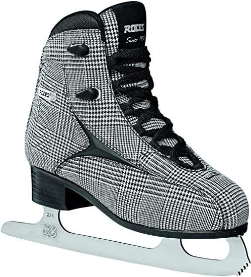Roces Damskie łyżwy Brits Check Black, whitesil, 38