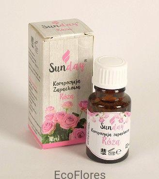 Olejek zapachowy Róża 12 ml SunDay